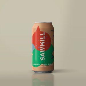 Sawmill Brewery - Peach + Mango Sour