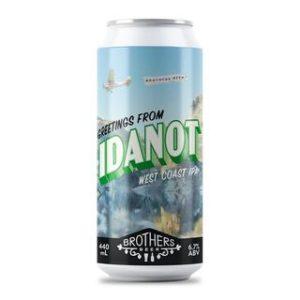 Brothers Beer - Idanot West Coast IPA